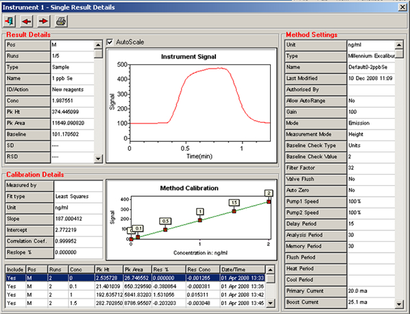 Millennium Software Screenshot